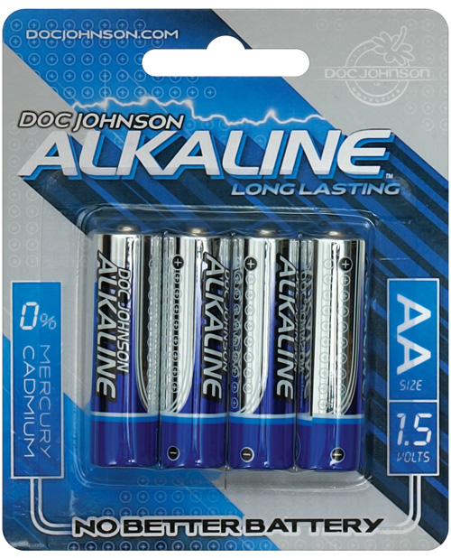 DOC JOHNSON AA BATTERIES 4 PACK AKALINE