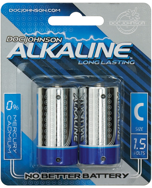 DOC JOHNSON C BATTERIES 2 PACK AKALINE