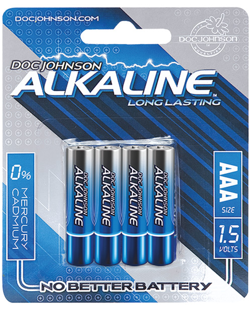 DOC JOHNSON AAA BATTERIES 4 PACK AKALINE