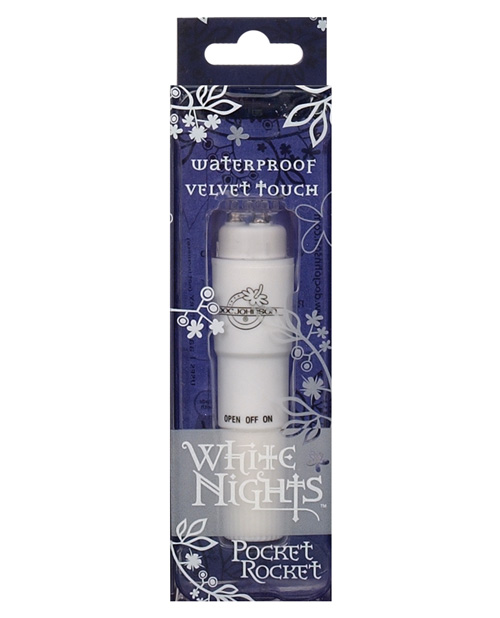 WHITE NIGHTS VELVET POCKET ROCKET