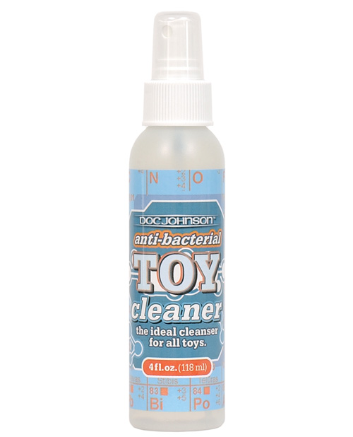 ANTI BACTERIAL TOY CLEANER 4 OZ  BU