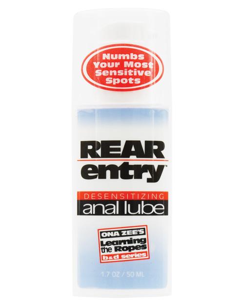 REAR ENTRY ANAL LUBE 1.7 OZ.  BU