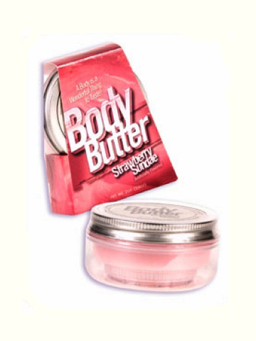 Body Butter- 4oz. Strawberry Sundae