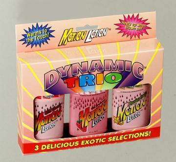 DYNAMIC TRIO 3-2 OZ. MOTION LOTION BX
