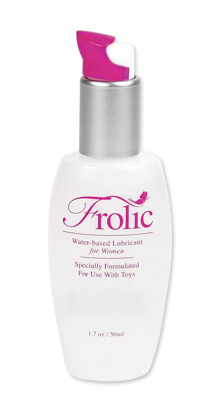 FROLIC 1.7 OZ TOY LUBRICANT FOR WOMEN