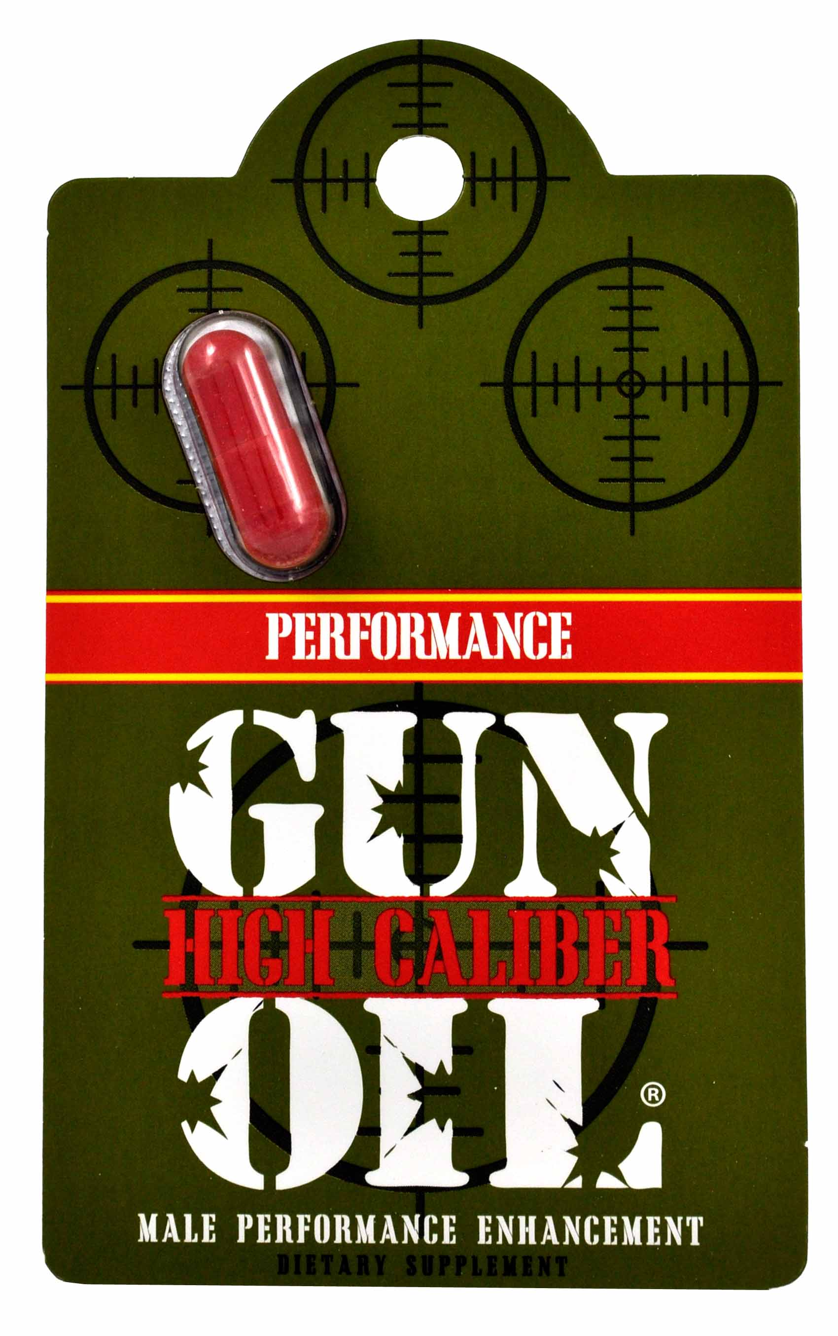 HIGH CALIBER MALE ENHANCEMENT 1PC (NET)