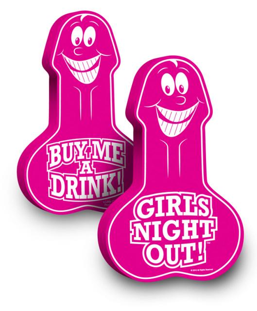 FOAM FINGER GIRLS NIGHT OUT