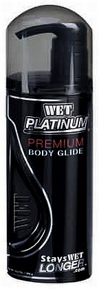 Wet Platinum Premium Body Glide - 1 Gallon