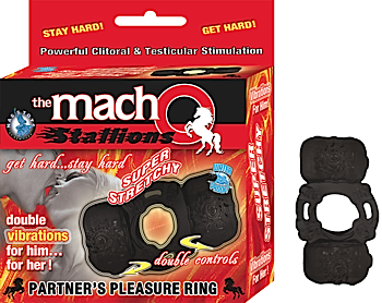 MACHO PARTNERS PLEASURE RING