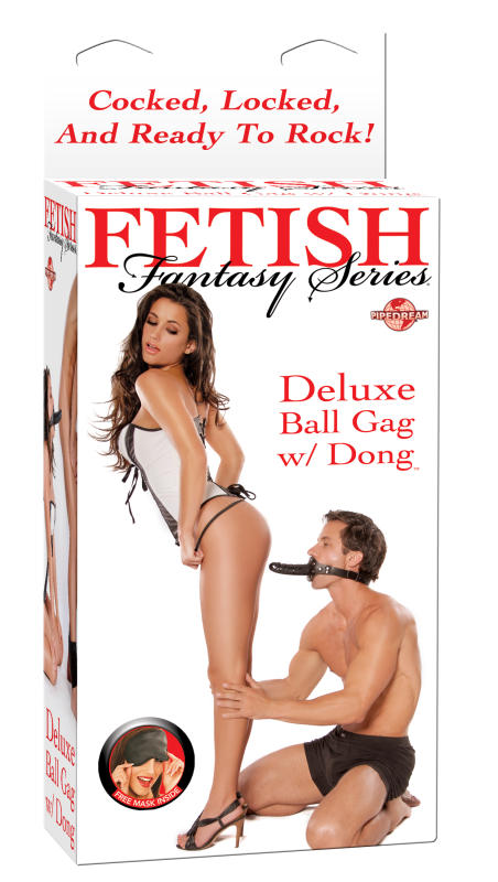 FF DELUXE BALL GAG W/DONG