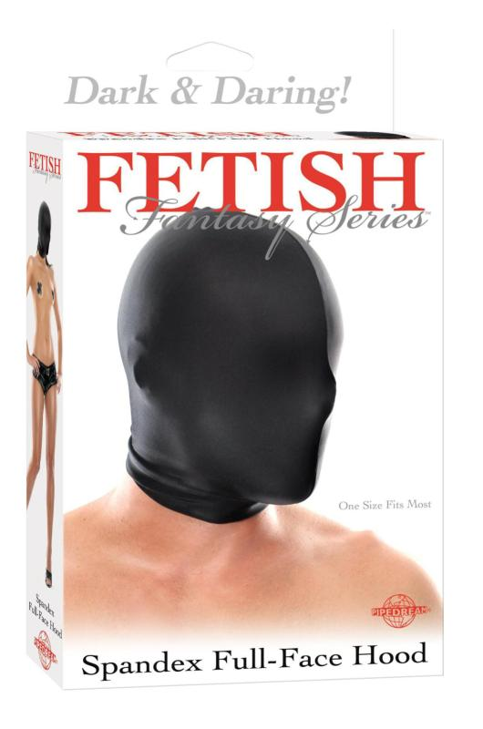 FETISH FANTASY SPANDEX FULL FACE HOOD