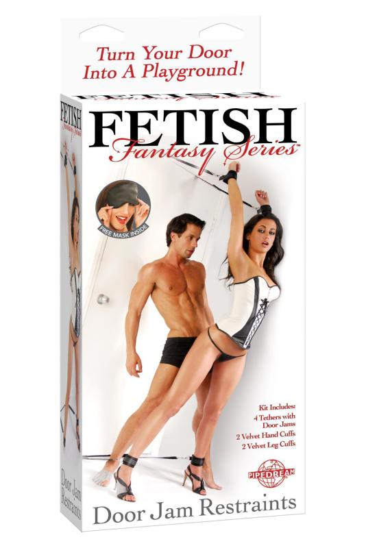 FETISH FANTASY DOOR JAM CUFF SET