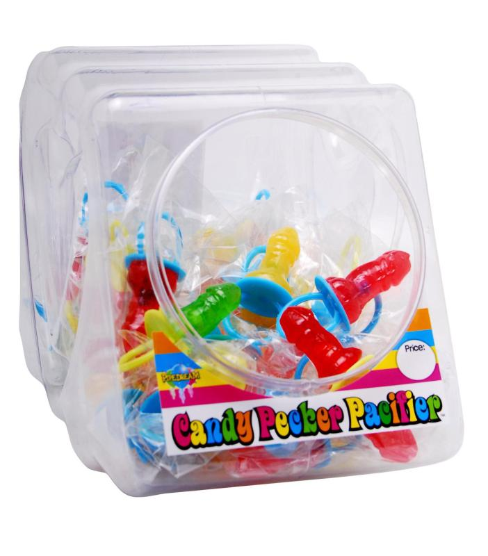 CANDY PECKER PACIFIER (48 PER DISPLAY)