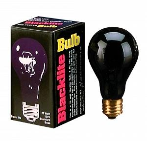 BLACKLITE BULB-75 WATT
