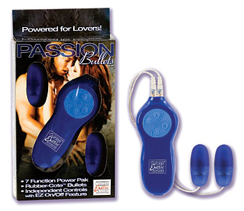 Passion Bullets Dual Bullets - Blue
