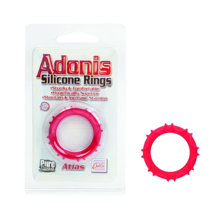 ADONIS SILICONE RING ATLAS RED