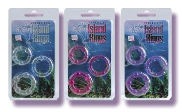 ISLAND RINGS- PURPLE