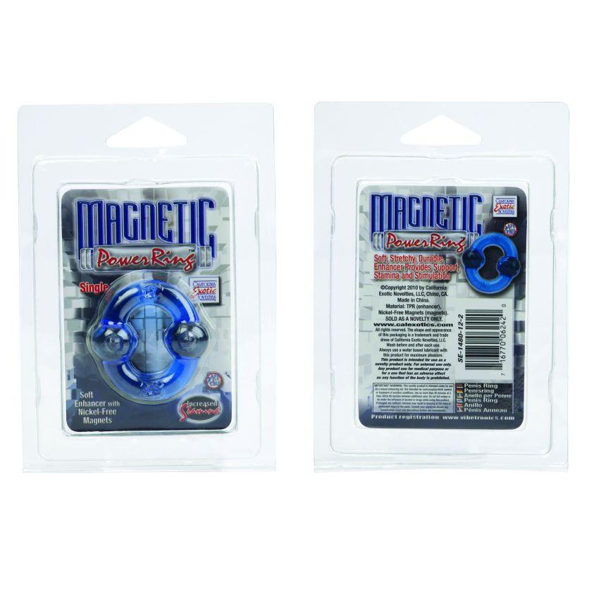 MAGNETIC POWER RING SINGLE BLUE