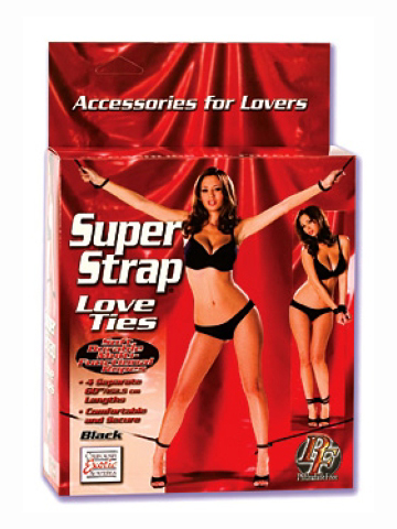 Super Strap Love Ties Black