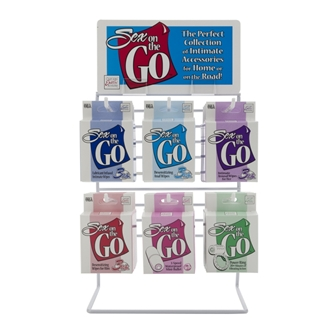 SEX ON THE GO DISPLAY 24PCS