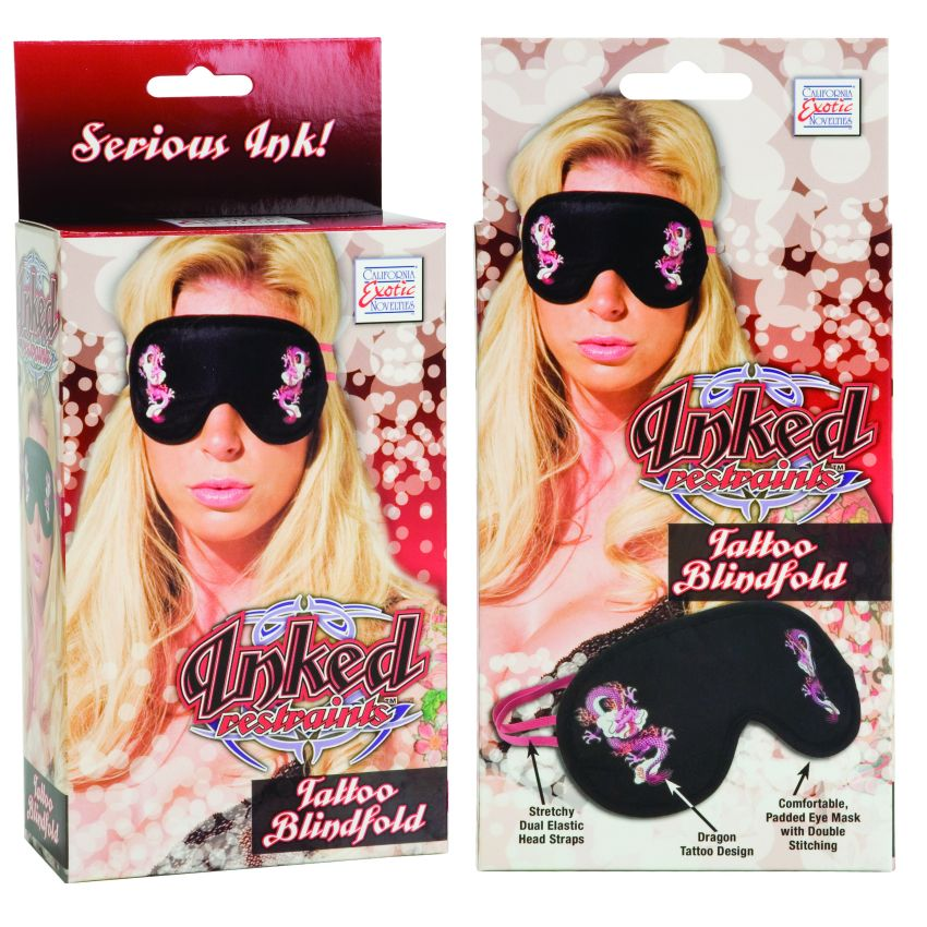 INKED TATTOO BLINDFOLD