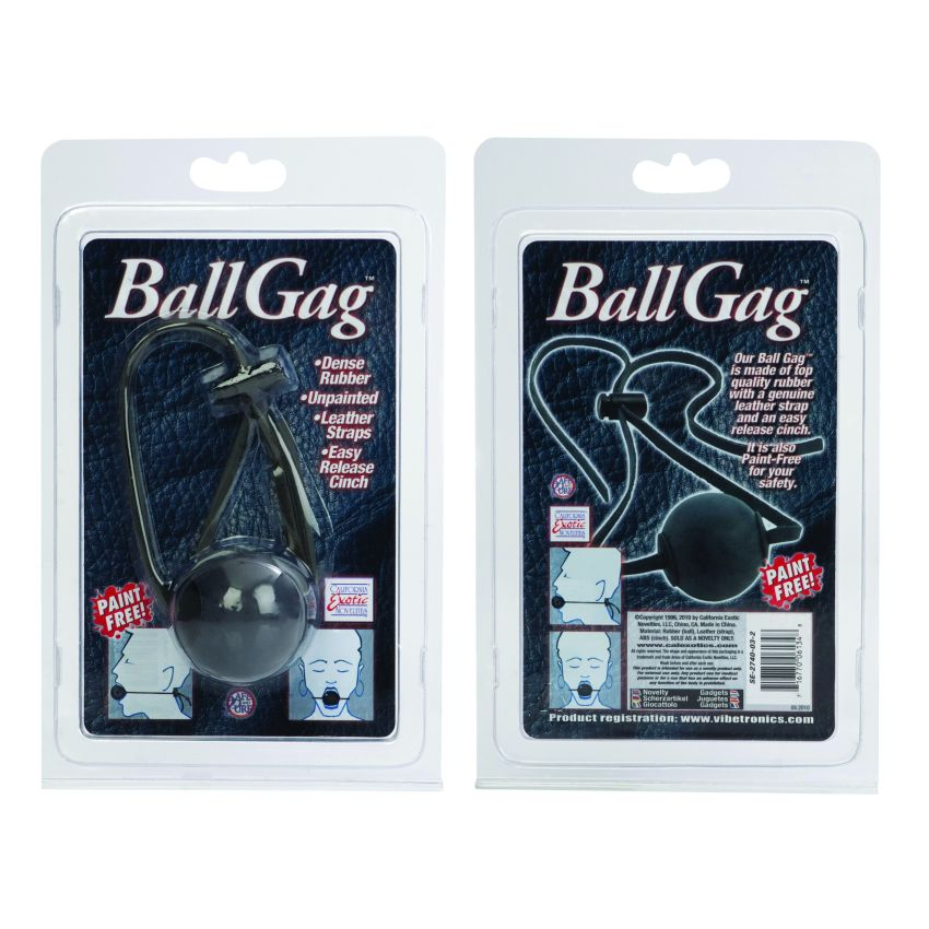 BALL GAG BLACK