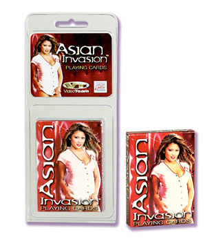 Asian Invasion Playing Cards