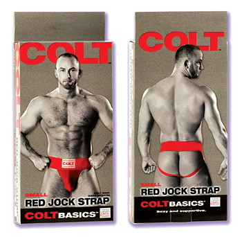 COLT Basics Red Jock Strap