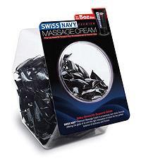 SWISS NAVY MASSAGE CREAM BOWL 100PC